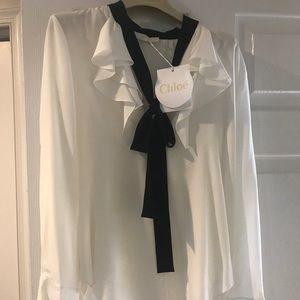 New Chloe Blouse with tags 36